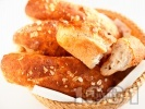 Рецепта Багети с мед и овесени ядки